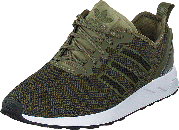 823cf56261b80 Buy adidas Originals Zx Flux Racer Olive Cargo/Core Black green ...