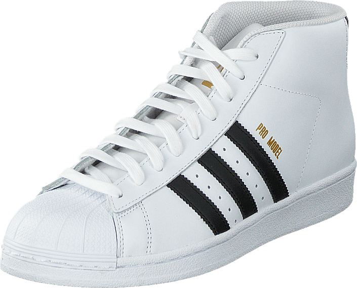 65ff7505f281 Buy adidas Originals Pro Model Ftwr White Core Black white Shoes ...