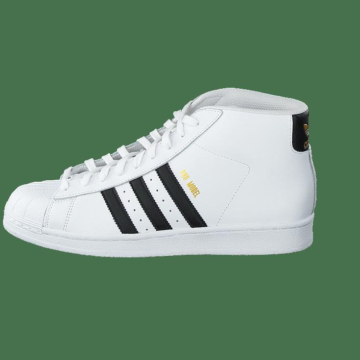 f21cad867fc Koop adidas Originals Pro Model Ftwr White/Core Black witte Schoenen Online  | FOOTWAY.nl