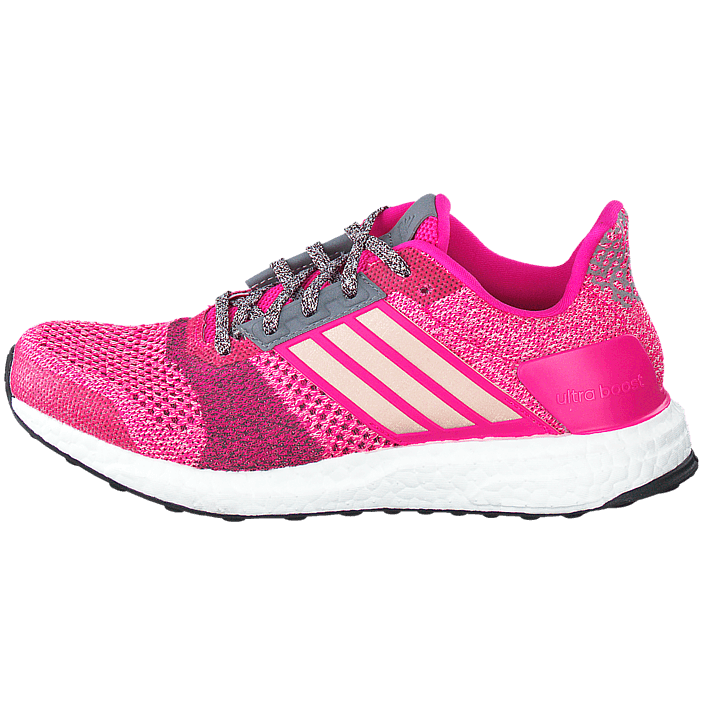 Ultra Boost St W Shock PinkMineral Red