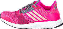Ultra Boost St  W Shock Pink/Mineral Red