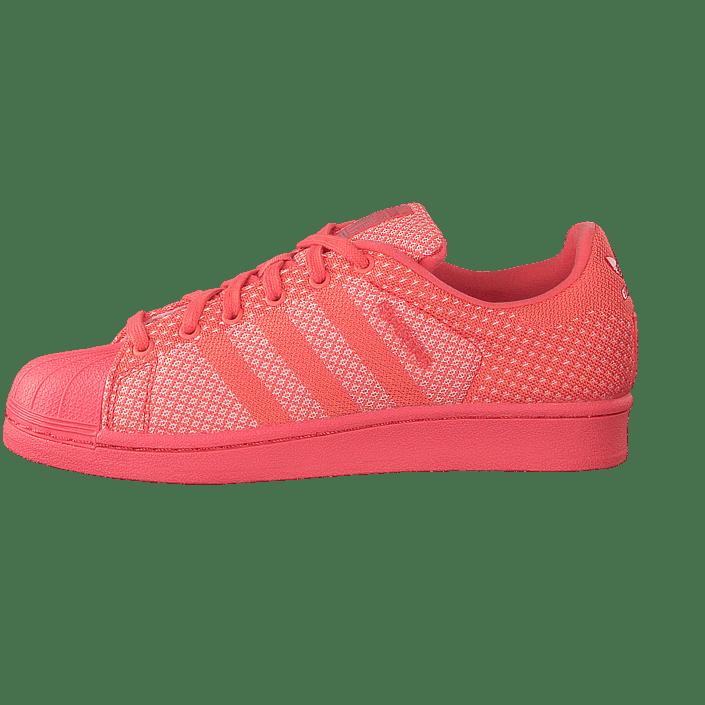online retailer 95e83 1273e Osta adidas Originals Superstar Weave Bright Coral Ftwr White punaiset  Kengät Online   FOOTWAY.fi