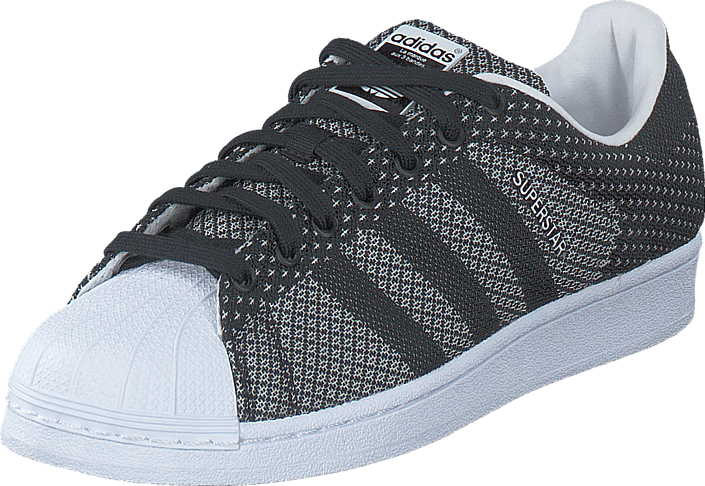 new style b9370 67a70 adidas Originals - Superstar Weave Core Black Ftwr White