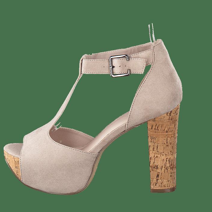 f86490965b4 Köp Bianco T-bar sandal DJF 16 Nougat beige Skor Online | FOOTWAY.se