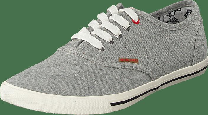 c7e61a0639d130 Jack   Jones JJ Spider Canvas Light Grey Melange graue Schuhe Kaufen ...