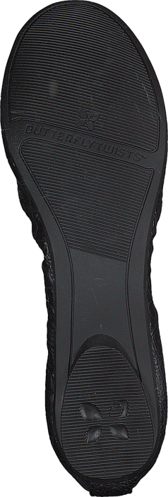 Kjøp Butterfly Twists Victoria Black Croc Sko Online