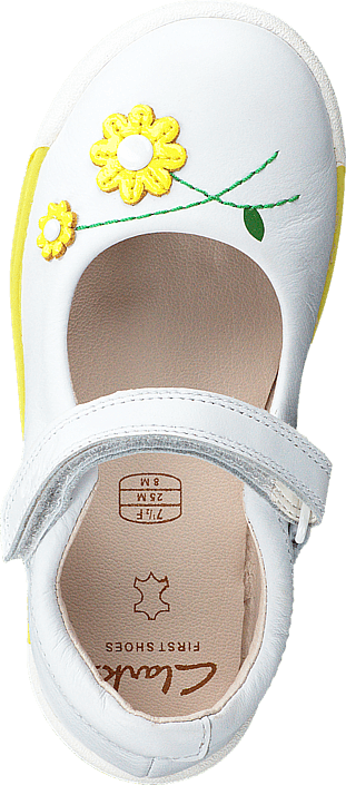 Clarks - Softly Jam Fst White
