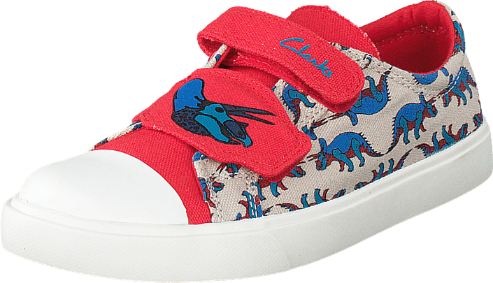 Clarks - Tricer Roar Red Combi