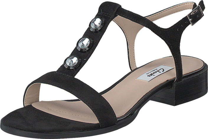 Clarks - Bliss Shimmer Black Sde