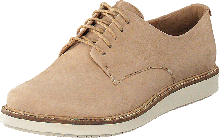impactante En segundo lugar Cosquillas  Buy Clarks Glick Darby Sand Nubuck Shoes Online | FOOTWAY.co.uk