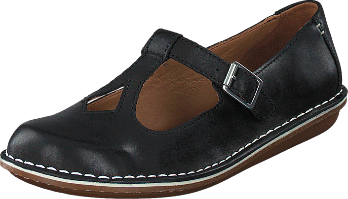 5b039ae5e Buy Clarks Tustin Talent Black Leather black Shoes Online