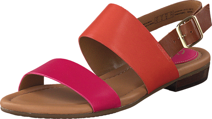 3f48fb110 Buy Clarks Viveca Aztek Fuchsia Leather red Shoes Online
