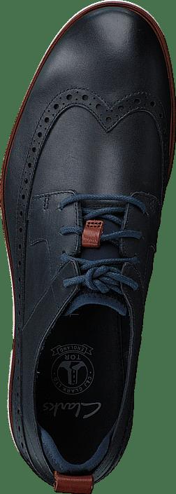 Clarks - Trigen Limit Navy Leather