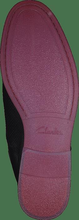 Kjøp Frewick Online Walk Sorte Leather Sko Clarks Lave Black qf6PZ7