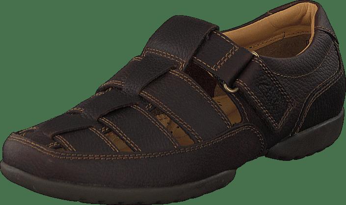 Clarks - Recline Open Mahogany Leather