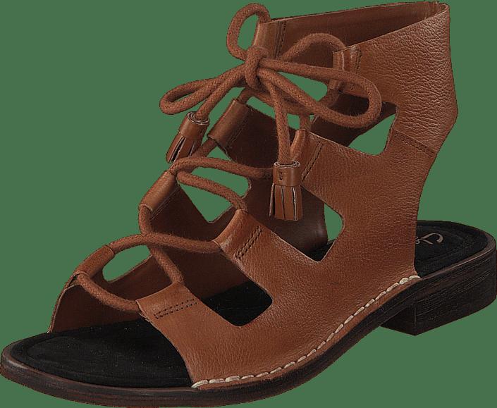 Clarks - Cabaret Scene Tan Leather