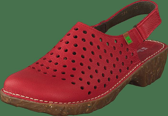 El Naturalista Yggdrasil NE24 röd röda Skor Online