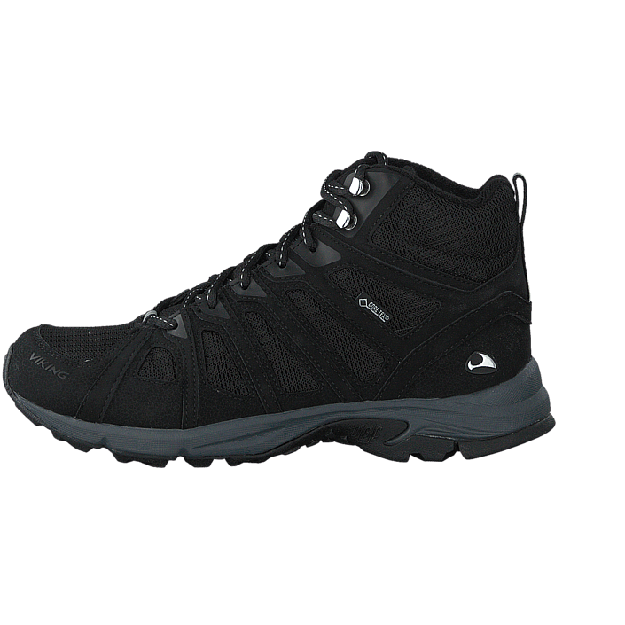 Femme Chaussures Acheter Viking Impulse Mid W Noir/Grey Chaussures Online
