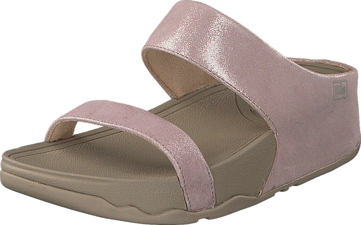 cd16fe75813d Køb Fitflop Lulu Shimmersuede S Nude lyserøde Sko Online