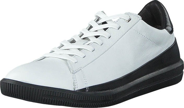 Diesel - S-Naptik Leather White/Black