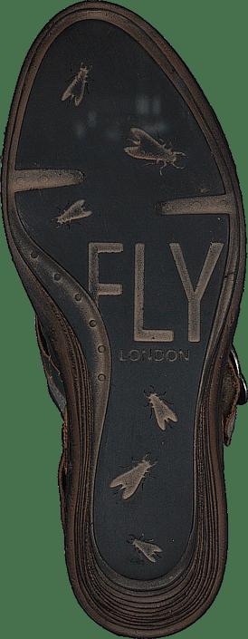 Fly London - Salm Dielsel/Ice/Antrasite