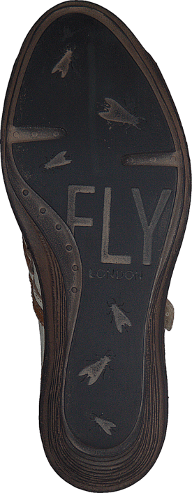 Fly London - Saia Offwhite/Mustard
