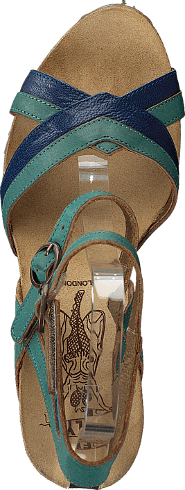 Fly London Aube Blue/Turquoise 66985412