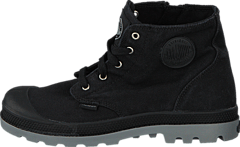 Pampa Hi Zipper Kids 53196-097 Black