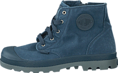 Pampa Hi Zipper Kids 53196-404 Dark Slate