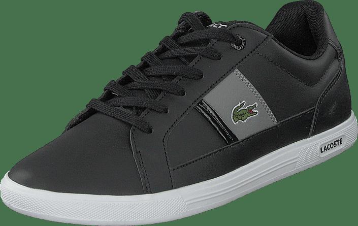 Europa Lcr3 Sportsko Sneakers Lacoste Sko Kjøp Sorte Og Blk Online gry fq5Ud8Ev