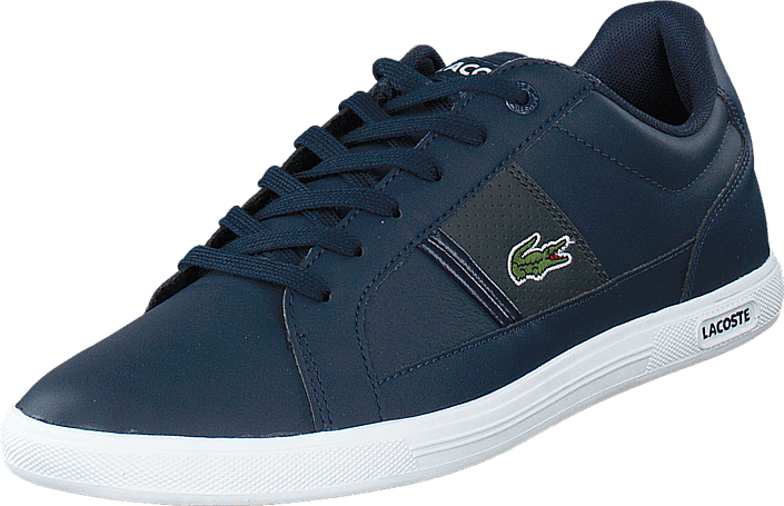 Europa Lcr3 Blå 53888 Og Gry 01 Sko Sportsko Køb Online dk Lacoste Nvy Sneakers FTUwEq5E