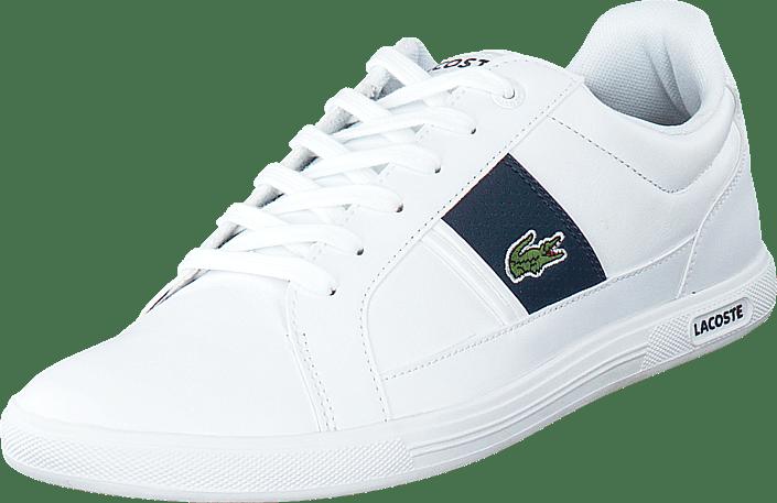 b36fb2ef0 Buy Lacoste Europa Lcr3 Wht Dk Blu white Shoes Online