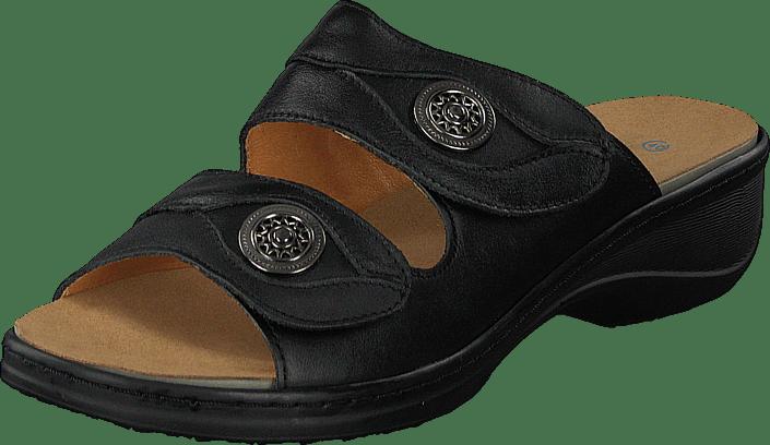 Kjøp Sorte Og Online Tøfler Sandaler Sko 06 Cenica Comfort Black Soft qwx6qAPTR