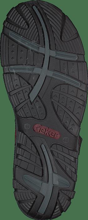 Kjøp Rieker 68851-33 Red Sko Online