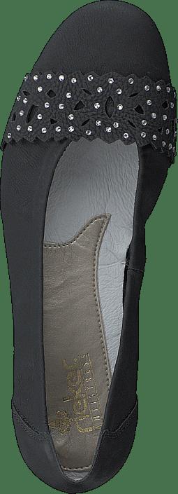 Kjøp Rieker Sko L8365 Sorte Online Black Flats 02 88qrdxwCa