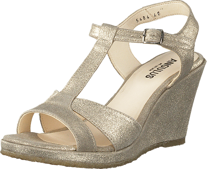 Høyhælte Pumps 2424 201 5484 Og Beige Glitter Silver Kjøp Angulus Online Sko ZWznTSOP
