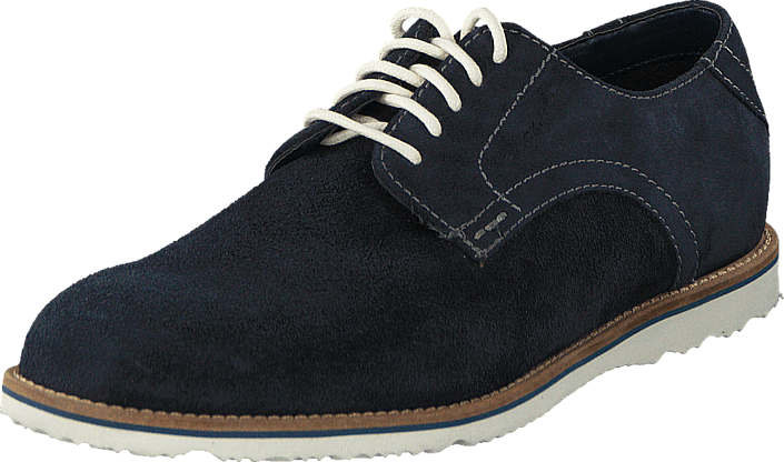 Rockport - Jazz Drive Plain Toe New Dress Blues