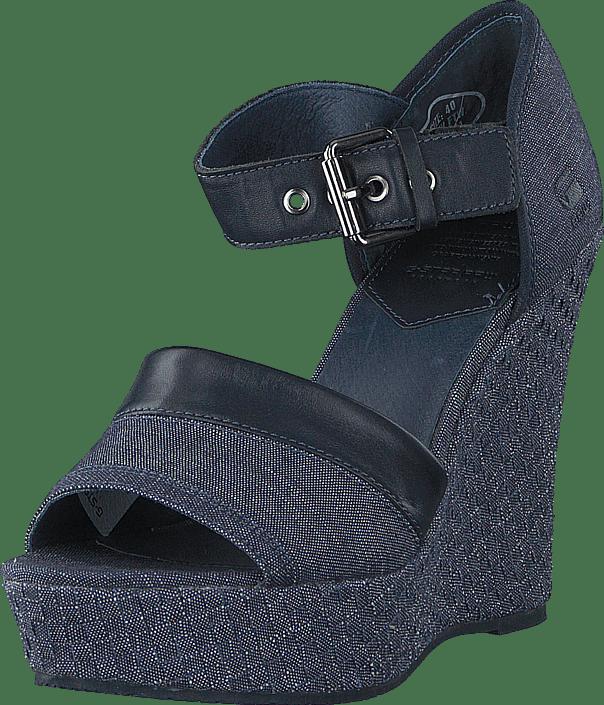 Sko Online Kjøp Harton Blå Chambray G star Sandal Raw Heels xnqPHFx