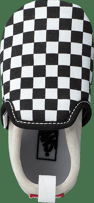 Slip-On Crib Black/True White Checkerboard