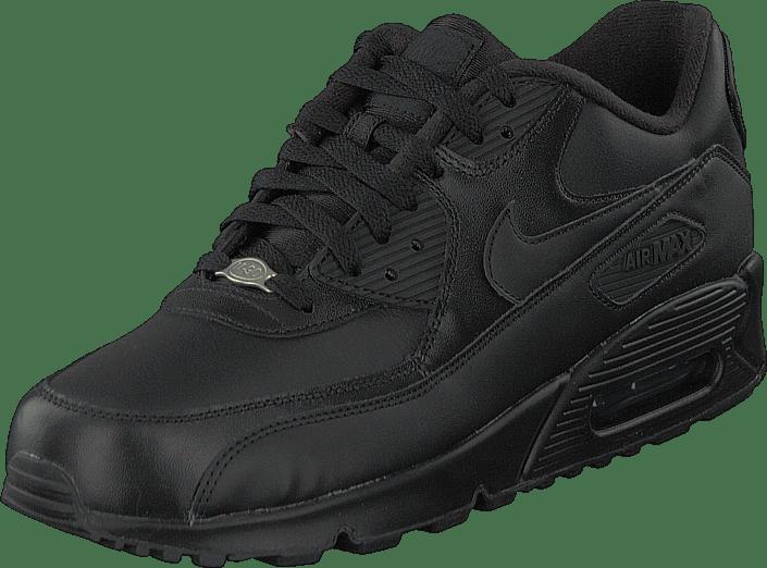 Buy Nike Air Max 90 Leather Black/Black