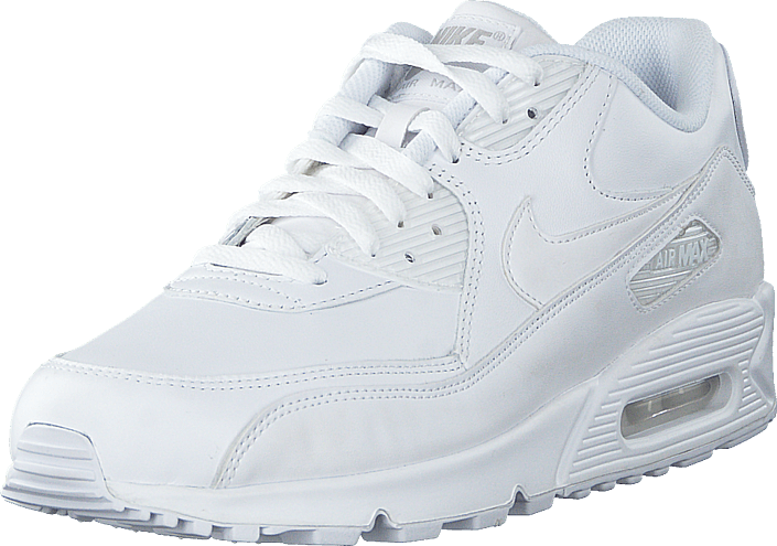 Air Max 90 Leather White/White   Shoes for every occasion   Footway