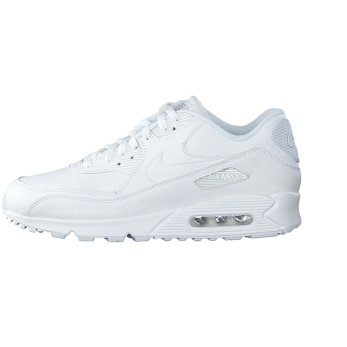 336cb8357ad ... coupon code for køb nike air max 90 leather white white hvid sko online  footway.