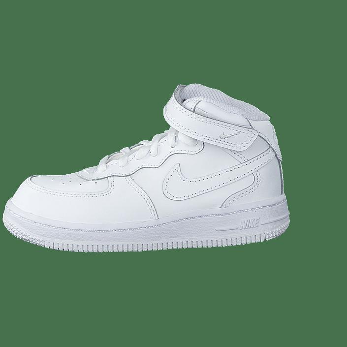 Koop Nike Force 1 Mid (Td) WhiteWhite White Schoenen Online