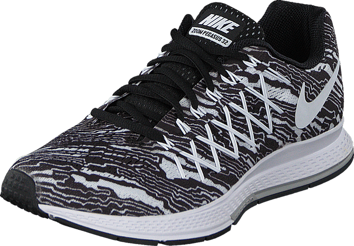 brand new dddb3 16f26 Nike Air Zoom Pegasus 32 Print Black/White