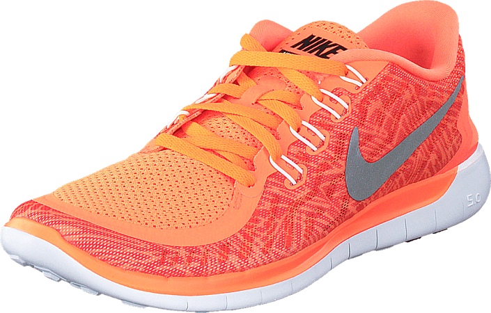 67aa7d2f6247 Buy Nike Wmns Nike Free 5.0 Print Hyper Orange Black-Sail-White red ...