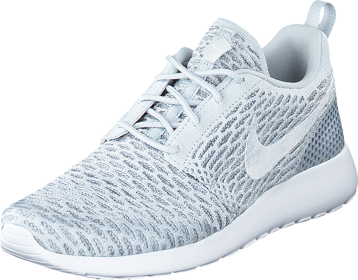 Kjøp Nike Wmns Roshe One Flyknit Pure PlatinumWhite Cool
