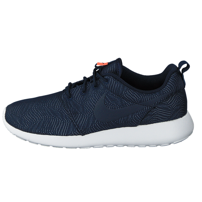 10ae13dc8c90 Buy Nike Wmns Nike Roshe One Moire Obsidian Obsdn-White-Brght Mng blue  Shoes Online