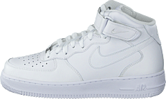 huge selection of ae662 0fd11 Nike - Wmns Air Force 1 Mid  07 Le White White