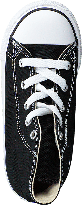 All Star Canvas-Hi Black