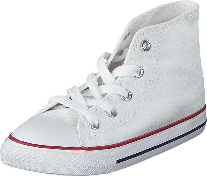 All Star Canvas-Hi Optical White